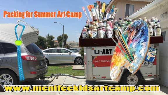 Kids art classes - Summer Art camp preparation